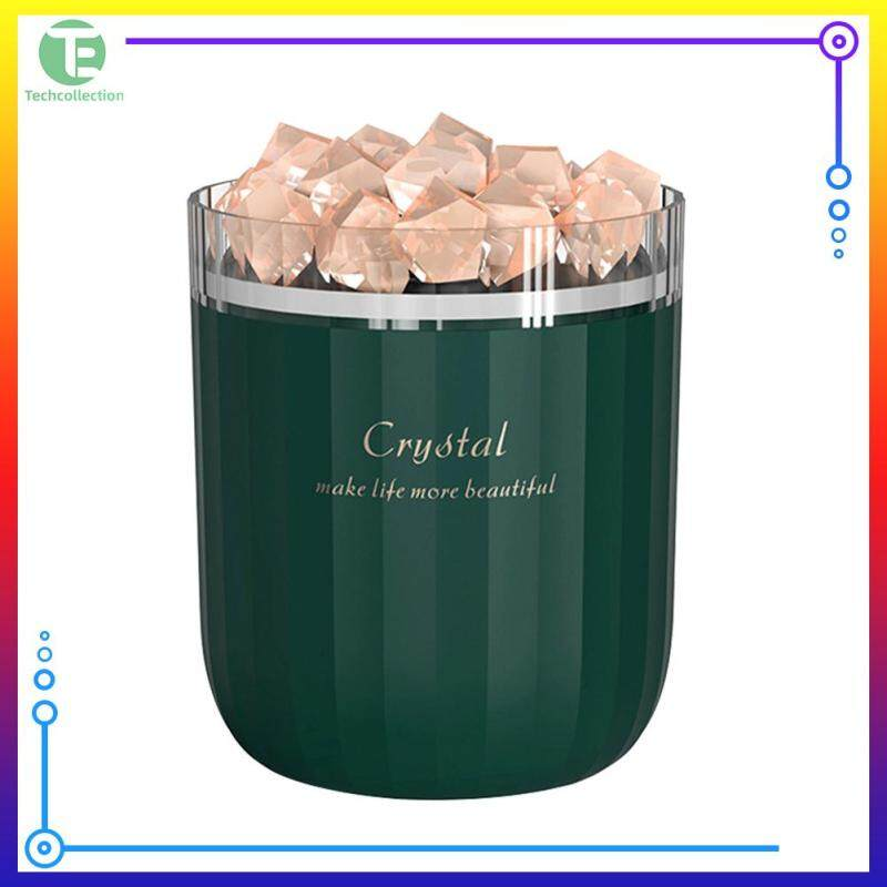 Essential Oil Aroma Diffuser LED Crystal Stone USB Air Humidifier Mist Maker for Living Room Office Singapore