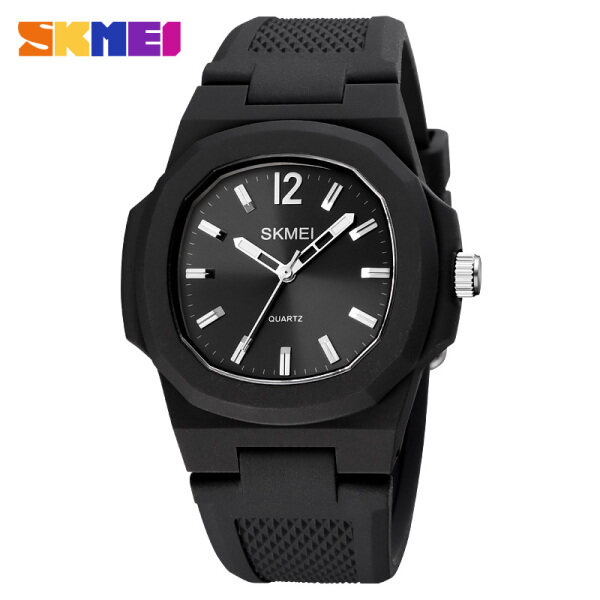 SKMEI Men Sports Watch Fashion Simple Quartz Silicone Waterproof Casual Watch For Man Men Women Malaysia