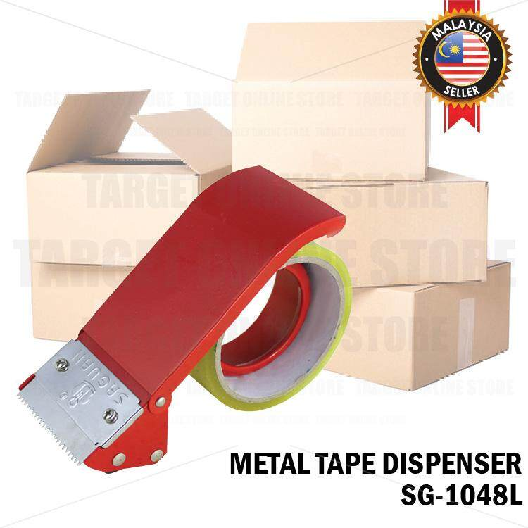 Metal Tape Dispenser SGL1048L Box Packing Carton Sealing Cutter Sealer