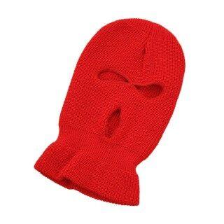 1 Chiếc Mũ Len Dệt Kim Mũ Beanie 3 Lỗ Acrylic Chống Gió Hữu Ích thumbnail