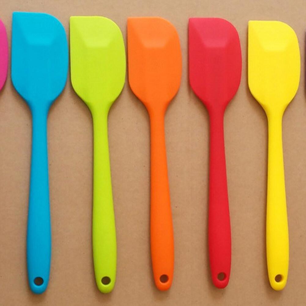 Cơ Hội Giá Tốt Để Sở Hữu 2 Pcs Xẻng Phụ Kiện Nhà Bếp Làm Bánh Nướng Xẻng Tích Hợp Dụng Cụ Vét Bột Silicone-Màu Ngẫu Nhiên