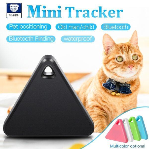 Vật Nuôi Thông Minh Mini GPS Tracker, Vật Nuôi Định Vị Thiết Bị Theo Dõi Bluetooth Chống Nước Chống Mất Tam Giác Trẻ Em Dog Cat Tracker, Nhiều Màu Sắc