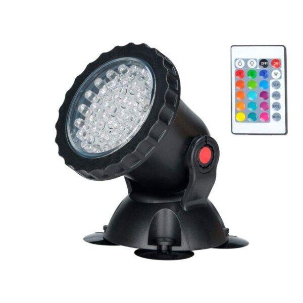 Đèn LED Chiếu Điểm Dưới Nước, Đèn Không Thấm Nước Đèn Chiếu Dưới Nước 36 Đèn LED RGB, Đài Phun Nước Bể Bơi Hồ Nước Bể Cá Vườn