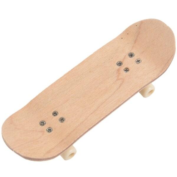 Giá bán HT00640 Fingerboard Finger Skate Board + Screwdriver Random Pattern