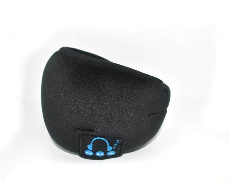 XG หูฟังบลูทูธผ้าปิดตาไร้สาย Bluetooth ผ้าปิดตาหูฟัง Eye Eye เฉดสีชุดกลองแบบพับได้ไมโครโฟนแบบแฮนด์ฟรี