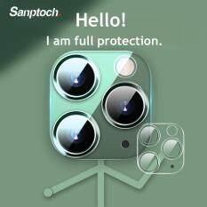 Ống Kính Máy Ảnh 3D Santotoch Bọc Hoàn Toàn Bảo Vệ Kính Cường Lực Trong Suốt Cho Iphone 11 Pro XS Max Iphone11 Bảo Vệ Camera Sau Vỏ Dán