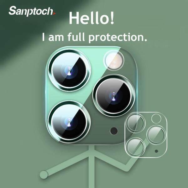 Giá Ốp Lưng Sanptoch Cho iPhone 11 Pro XS Max, Ốp Dán Bảo Vệ Camera Trong Bảo Vệ Toàn Bộ Ống Kính Máy Ảnh 3D