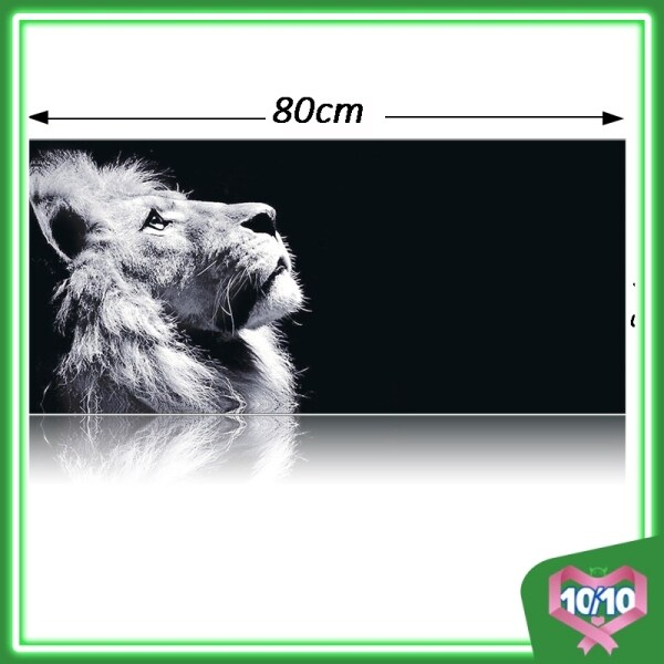 Z PLUS Large Gaming Thickened Desktop Keyboard Mouse Pad Laptop Accessory Comfort Gamer Office Worker Mousepad (Lion) Malaysia