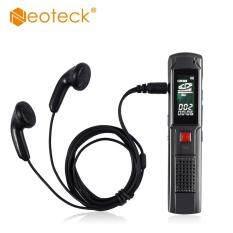 Neoteck 8 GB USB Sạc Kỹ Thuật Số Âm Thanh Dictaphone MP3 Người Chơi Dictaphone Sạc MP3 Người Chơi Đĩa 8 GB