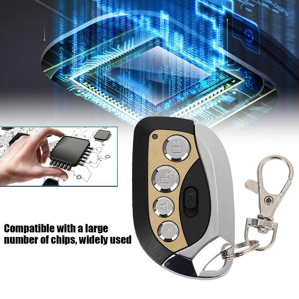Boomboo679 Copy Remote Control 4 Key 433MHz Wireless Remote Control Clone Universal With Switch