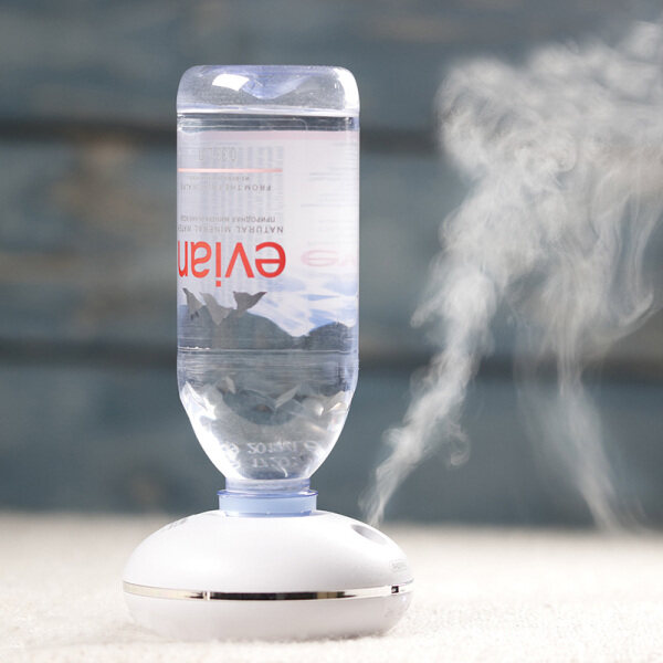 ✧  Remax water bottles Aquarius spray humidifier usb mini household air conditioning room quiet bedroom small portable air humidor office desktop wireless rechargeable travel Singapore