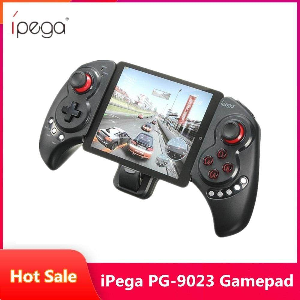 Original Ipega Pg-9023 Wireless Bluetooth Game Controller Gamepad Joystick With Stretch Bracket For Iphone 6 Plus Ios Android System Built-In 380mah By Aimeey.
