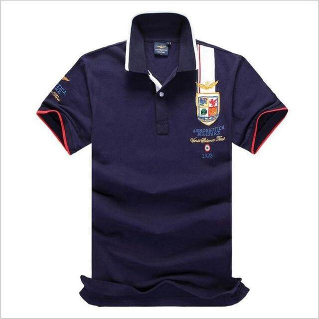 527985e4 New 2018 Air Force one Top Quality Embroidery Men's Aeronautica Militare Polo  shirt Hombre Manga Corta