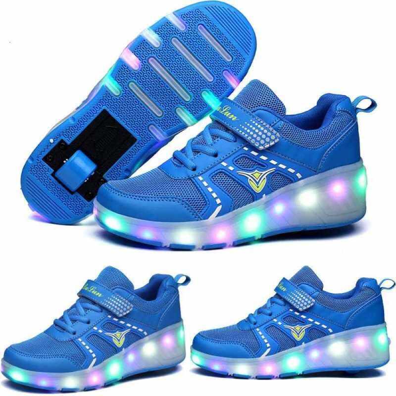 Phân phối Moven Trẻ Em Lăn Giày Với Một Bánh Xe Giày Sneaker Thể Thao LED Lăn