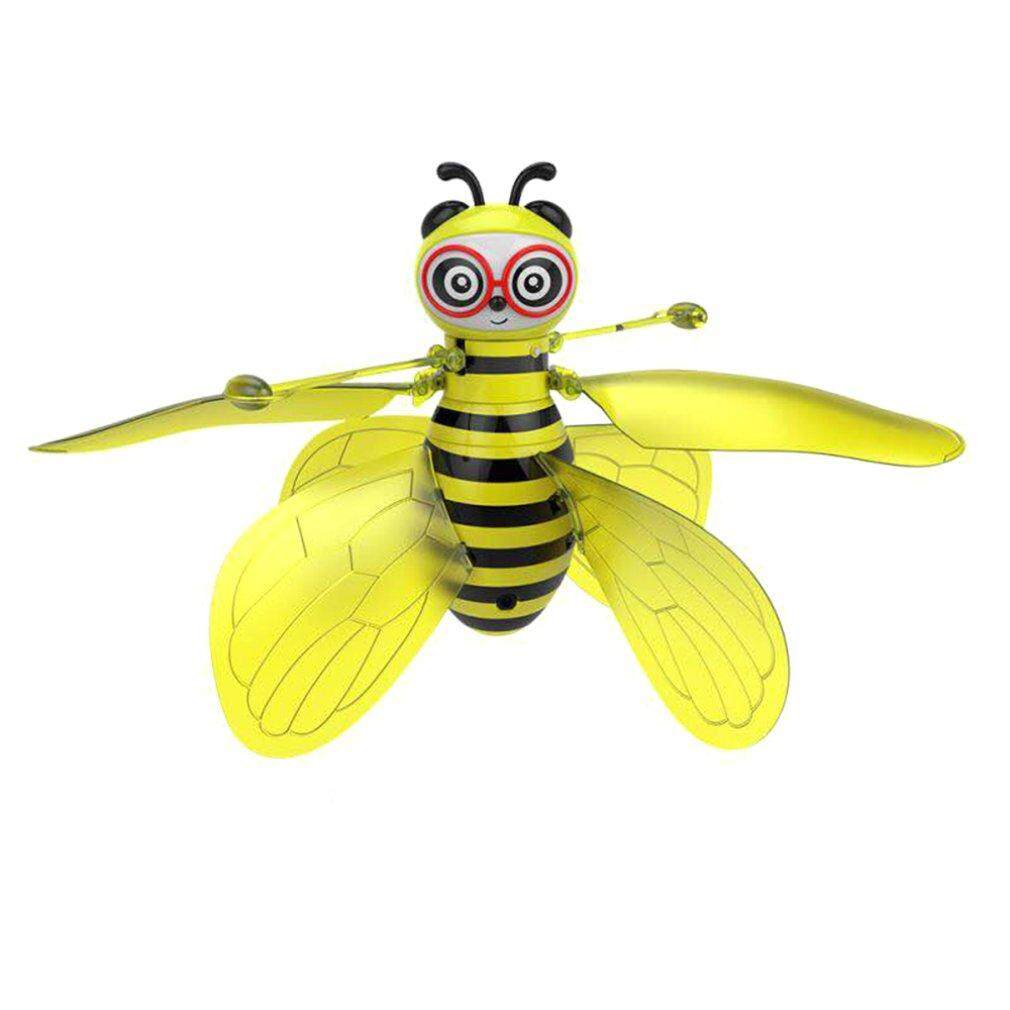 Super Deals Cartoon Bee Design Drone Infrared Induction Hand Control Ufo Rc Training Drone By Good Good Shop.