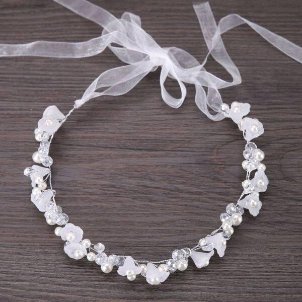 Giá bán Pha Lê Trắng Công Chúa Vương Miện Điều Chỉnh Mũ Cô Dâu Hoa Vòng Hoa Vòng Hoa Phụ Kiện Tóc Tiệc Cưới Headband