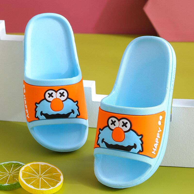 Oo รองเท้าแตะเด็ก,รองเท้าชายหาดการ์ตูนพร้อมพื้นรองเท้านิ่มสำหรับเด็กชายและเด็กหญิง.