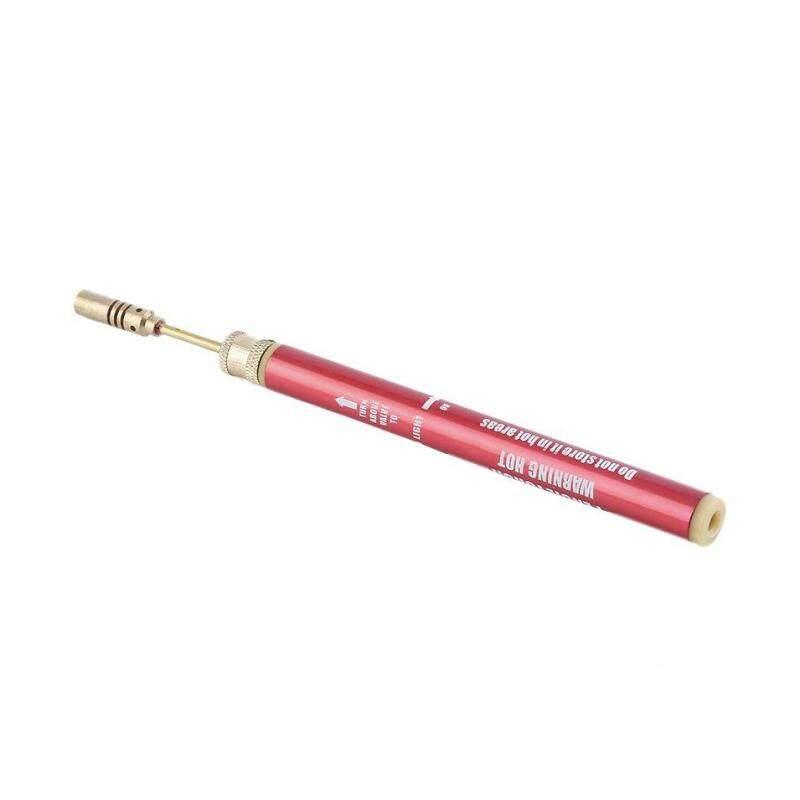 Hot Bán Hàng Gas Mini Thổi Đèn Pin Gu * nSoldering Hàn Sắt Không Dây Bút Hàn Đốt