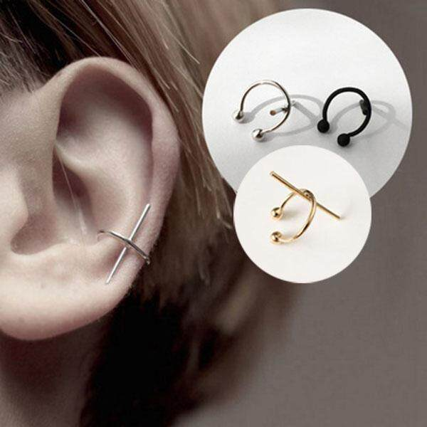 3 pcs Minimalist Jewelry Ear Cuff Clip Earrings Without Piercing Korean  Gold One Direction Earcuff Non 13c33a86ddb4