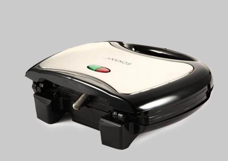 Sandwich Maker Toaster Bread Oven Electric Grill Meat Bbq Steak Hamburger Breakfast Machine Triangle Plate Kj102