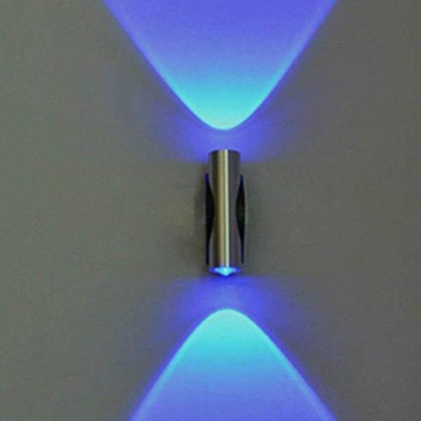 Đèn LED Treo Tường Hai Đầu, Đèn Trần Nhà Trang Trí Quán Bar, Hiên Nhà, Màu Xanh Dương