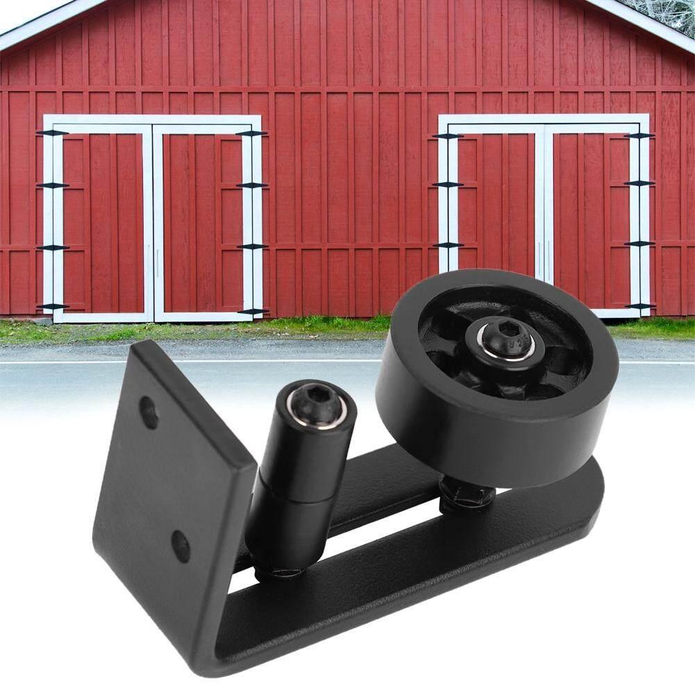 Adjustable Stay Roller Floor Guide Barn Door Floor Guide Stay Roller(Spraying Black)