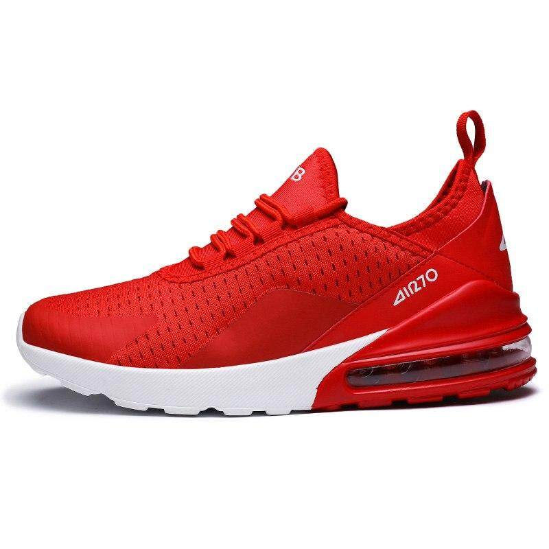 c5537b0b Red Sneakers Man Air 270 Running Shoes Damping Cushion Height Increasing  Shoe Men zapatillas hombre deportiva