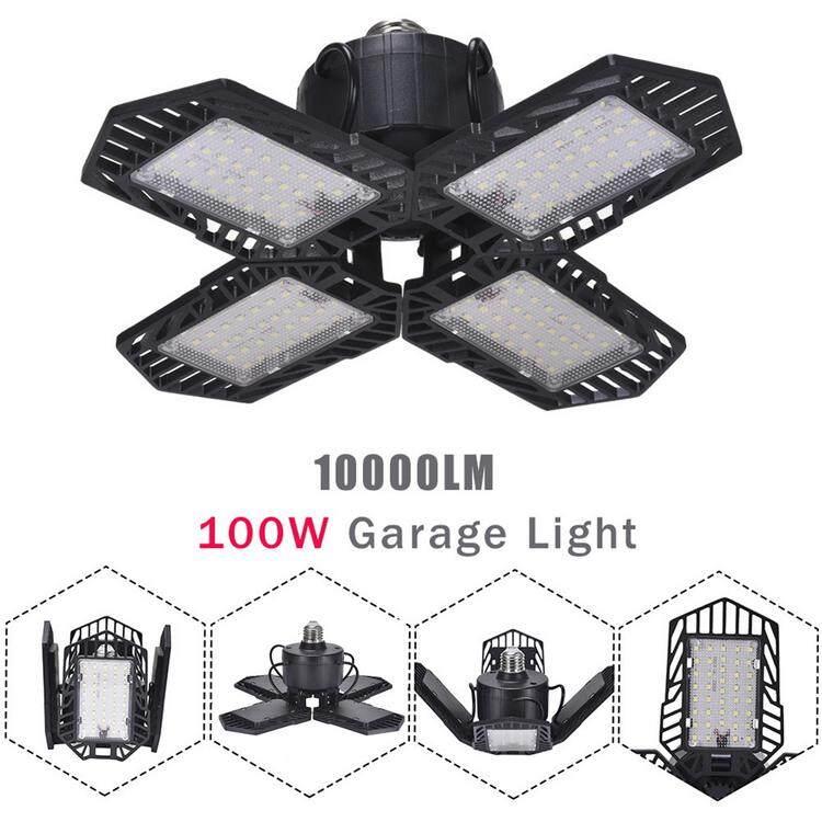 PER Cahaya Garasi Lipat Lampu Pertambangan Ultra-tipis Lampu Sorot Ringan untuk Tempat Parkir Gudang Rumah
