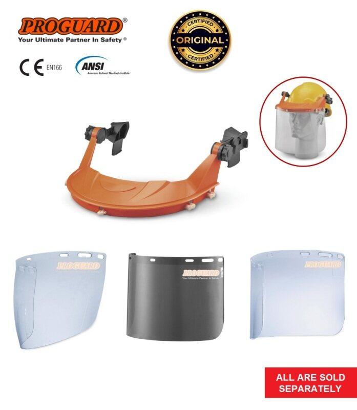 Durable & Adjustable Helmet Visor Holder, Replacement Clear or Smoke Visor BGVH, SV-11-CE, FC48C-CE, FC48G5-CE PROGUARD