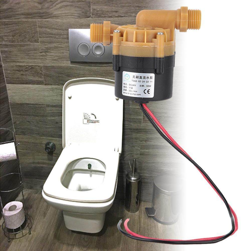 New Arrival 24V Centrifugal Intelligent Large Flow Brushless Water Pump For  Toilet Water Heater