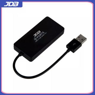 JDB Bộ Chia USB HUB 4 Cổng USB 2.0 Có Cổng Sạc Micro USB Cho Máy Tính iMac Phụ Kiện Máy Tính Xách Tay HUB OTG USB-Màu Đen thumbnail