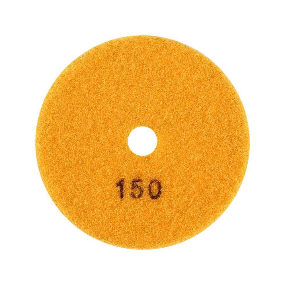 Andylike 100mm 4 Wet Diamond Grinding Disc Polishing Pad for Granite Marble Stone