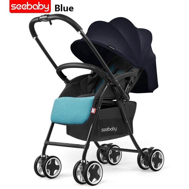 Seebaby Best Convertible Strollers Two Way High Landscape Reversing Stroller Folding Light Weight Puchair
