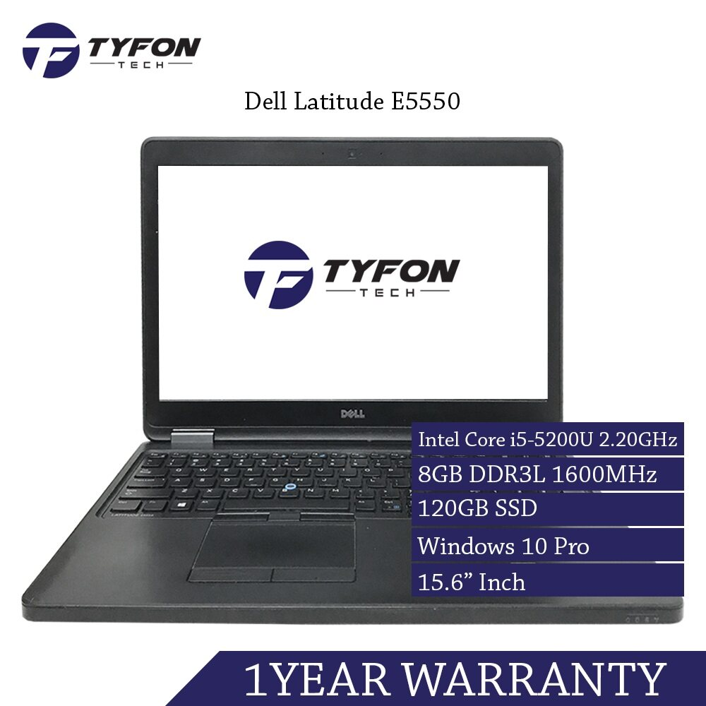 Dell Latitude E5550 i5 Laptop (Refurbished) Malaysia