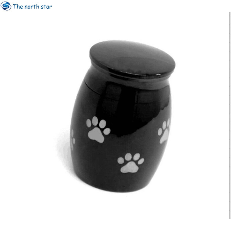 Bình Đựng Tro Cốt Thép Không Gỉ Cho Chó Mèo Vật Đựng Tro Cốt Thép Thu Nhỏ Bình Đựng Tro Cốt