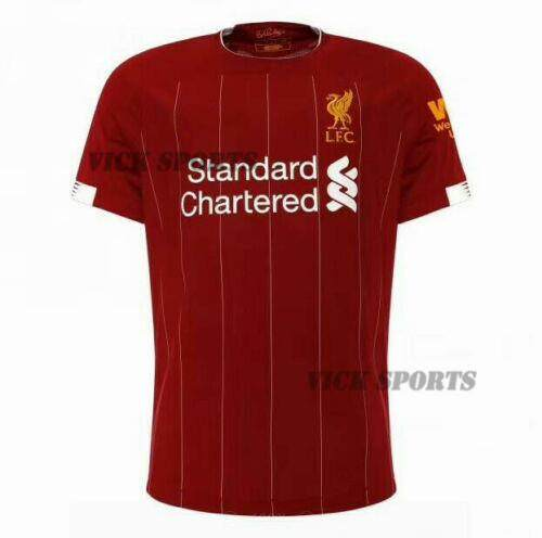 c2d3f56d1f0 2019 2020 Newest Next Season Liverpool Home and Away Football Jersey Soccer  Training shirt for