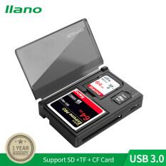 Đầu Đọc Thẻ Tốc Độ Cao Lamo USB 3.0 Với Chức Năng Lưu Trữ Hỗ Trợ SD, TF, Micro SD, CF Và Các Thẻ Nhớ Khác