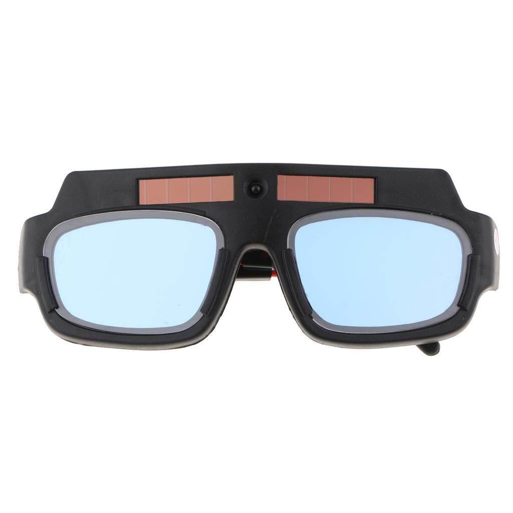 Blesiya Welding Cutting Welder Safety Goggles Black Eye Protection Soldering Glasses