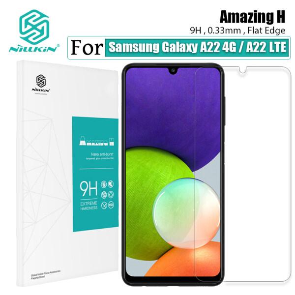 Nillkin Miếng Dán Màn Hình Kính Cường Lực H 0.33 MM Chống Lóa, Chống Lóa, Chống Lóa, Chống Lóa Cho Samsung Galaxy A22 4G / A22 LTE 4G-Intl