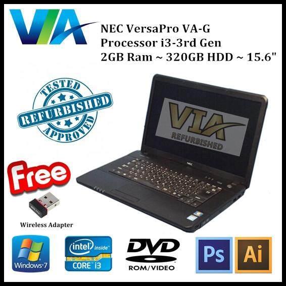 Refurb Nec VersaPro VA-G~CI3~2Gb Ram~320Gb HDD~15.6 Malaysia