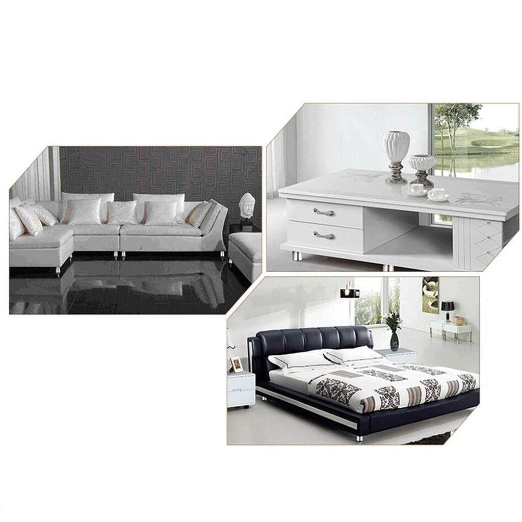 BolehDeals 4pcs Adjustable Sofa Foot Legs Stainless Steel Furniture Cabinet Feet 25cm