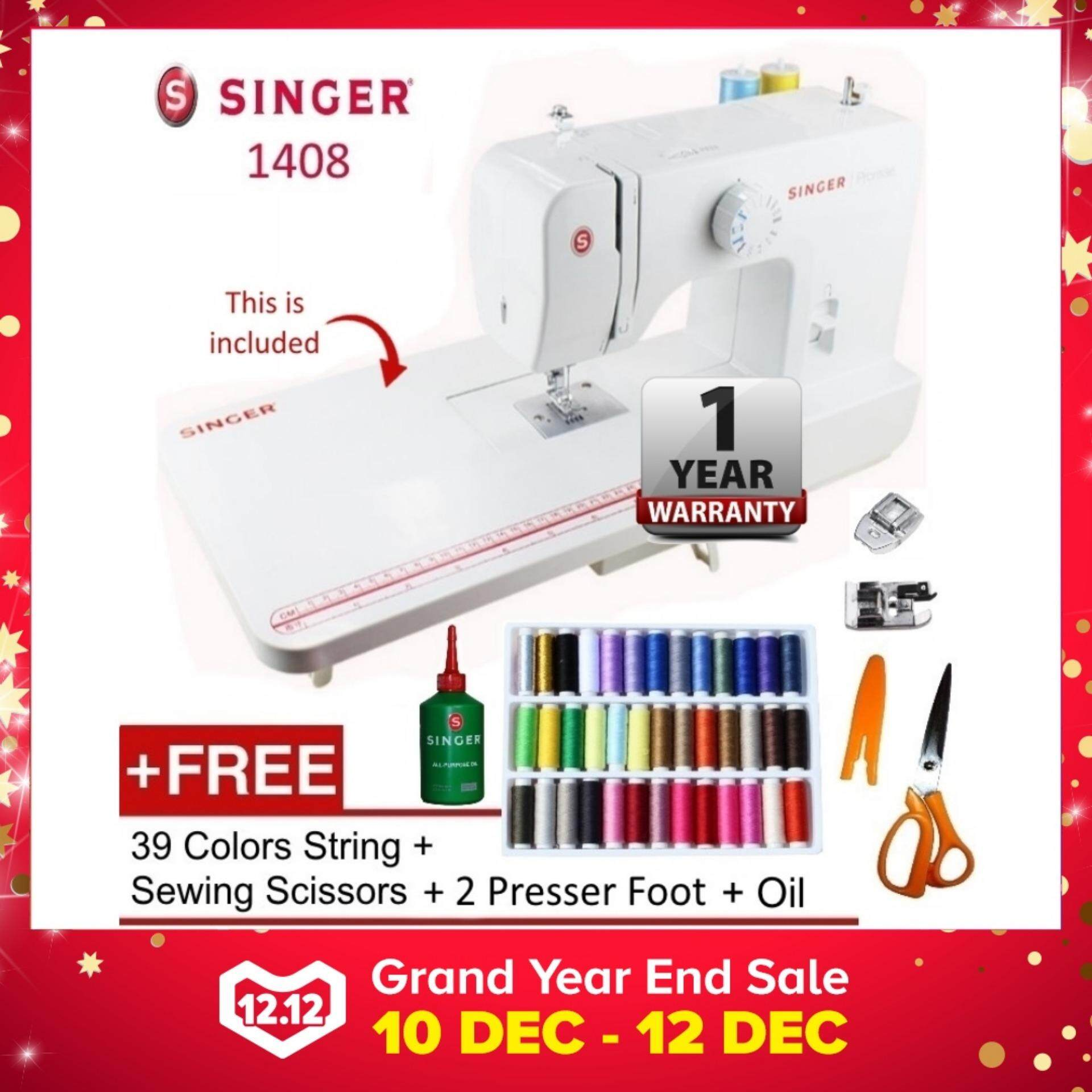 Singer Sewing Machines Price In Malaysia Best Mesin Jahit Digital Portable 6660 Starlet 1408 Promise Machine Platform