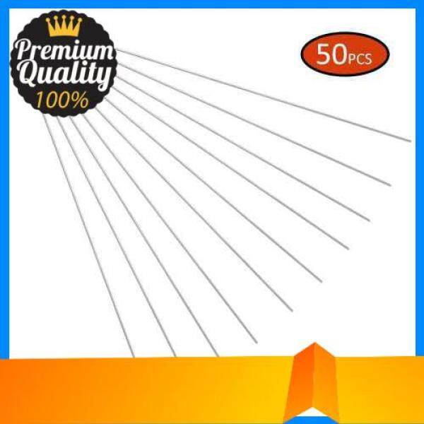 10pcs / 50pcs / 100pcs Titanium Barbecue Skewers Reusable BBQ Kabob Sticks BBQ Grilling Accessories (50)