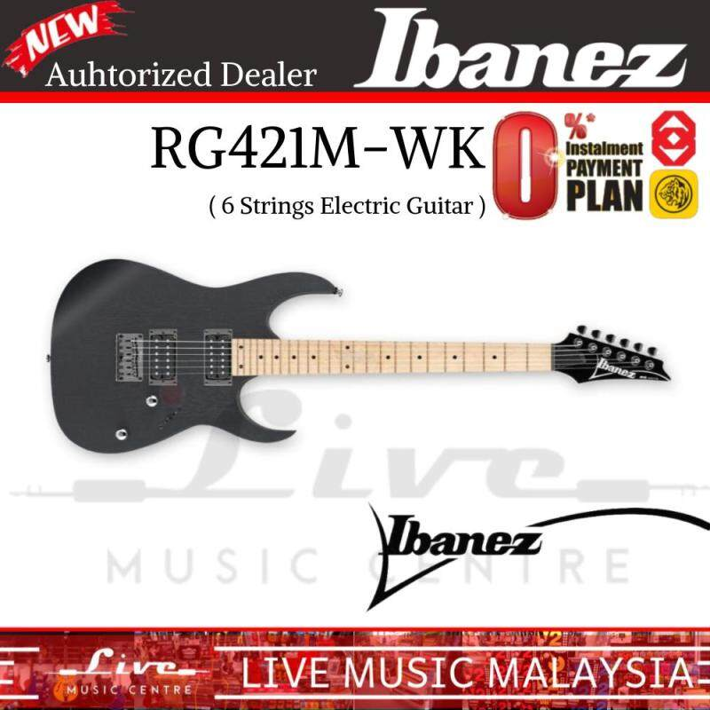 Ibanez RG421M Weather Black Solid Body Electric Guitar (RG421M-WK) Malaysia