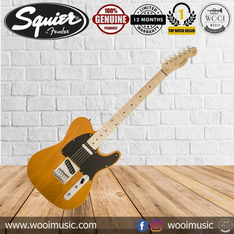 Squier Affinity Special Telecaster Electric Guitar (Maple Fingerboard) (Butterscotch Blonde) Malaysia