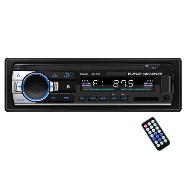 Radio Trong Xe Hơi Rảnh Tay Máy Nghe Nhạc Âm Thanh Stereo Bluetooth, Đài Phát Thanh Ô Tô 12V Ổ Đĩa Usb/Thẻ Tf/Bộ Chuyển Đổi Aux-in Đa Chức Năng