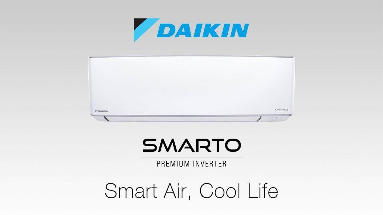 DAIKIN 2019 NEW R32 1.5HP SMARTO Premium Inverter FTKH35AV1L/RKU35FV1D