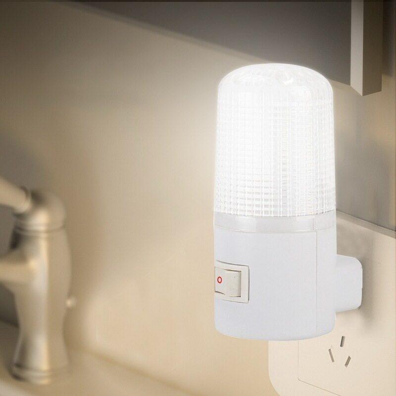Đèn Tường Khẩn Cấp Đèn Ngủ LED Chiếu Sáng Gia Đình Đèn Đầu Giường Cắm Chuẩn EU 4 Đèn LED 3W Tiết Kiệm Năng Lượng Gắn Tường