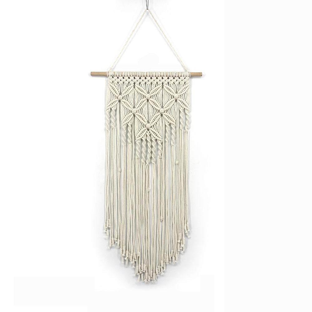 Wedding Art Gift Hanging Wall Craft Handmade Bohemian Home Decor Woven Tapestry