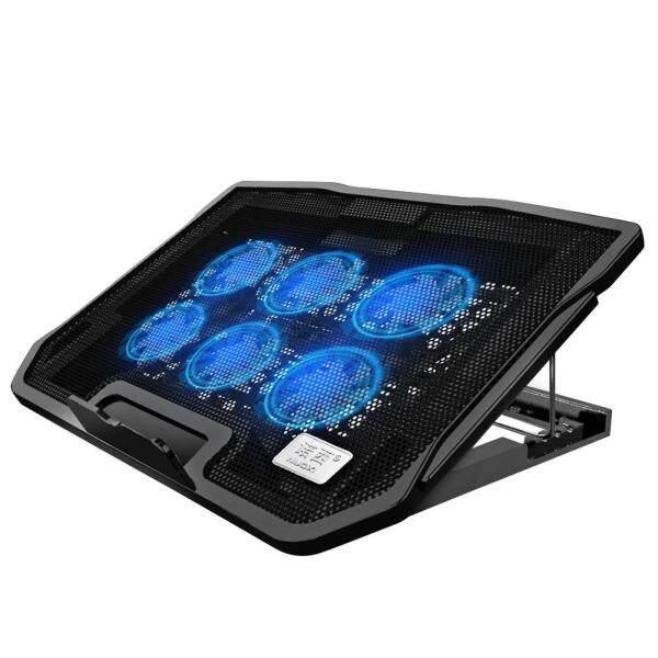 H9 Laptop Cooling Pad Dual USB Port Cooler Adjustable Silent Radiator Malaysia